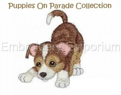 Puppies On Parade Collection - Machine Embroidery Designs On Cd
