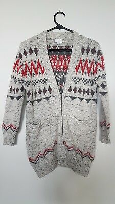Witchery Girl woolen cardigan sz10