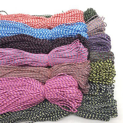 10Yards Multicolor Parachute Cord Lanyard Rope Climbing Camping Jewelry Making