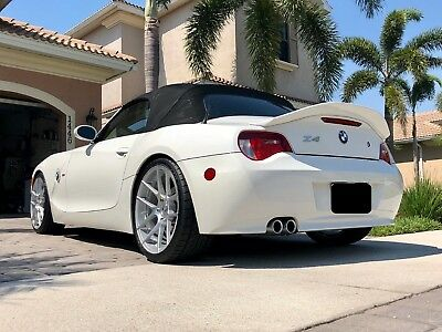 Bmw Z4 E85 Cabrio Ducktail Look Rear Boot Spoiler 299 00 Picclick