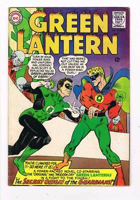 Green Lantern # 40  Secret Origin of the Guardians !  grade / 5.0 scarce book !