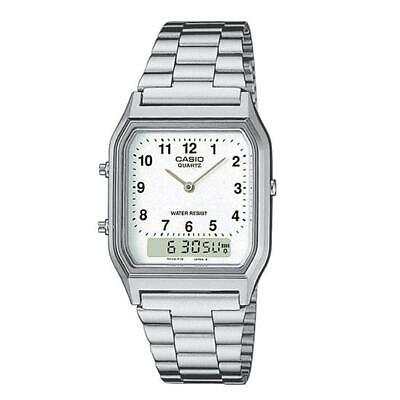 Casio Collection Retro Dual Time Mens Watch AQ-230A-7BMQYES