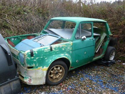 Simca 1000 race project/brave restoration