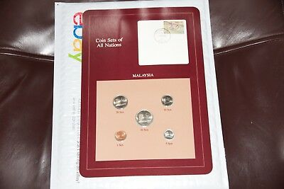 Coin Sets of all Nations Malaysia BU 1982-1984