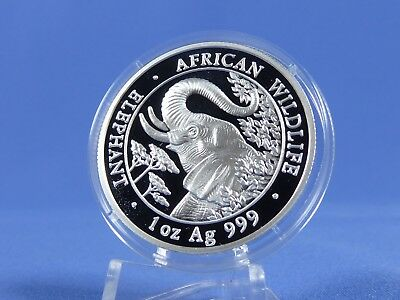 Somalia 1000 Shillings 2005 , African Wildlife ,Silber *PP/Proof* (10825 )