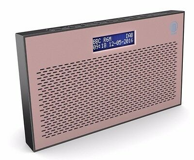Majority Histon DAB+ DAB FM Digital Portable Radio Rose 2nd Edition