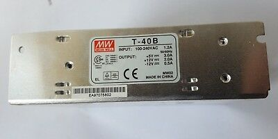 Meanwell T-40B Power Supply (In1S1B3)
