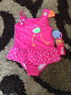 NWT Toddler Girls' Baby Buns Swimsuit - Suze 2T