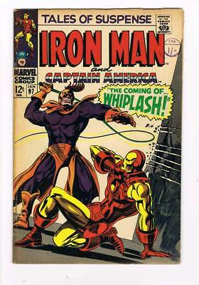 Tales of Suspense # 97  First appearance of Whiplash ! grade / 5.0 scarce book !