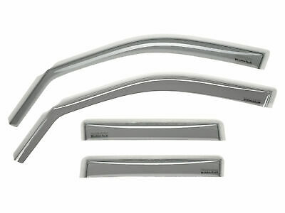 WeatherTech IN-CHANNEL RAIN /& WIND GUARDS FOR CHRYSLER 200 2015-2017 82770