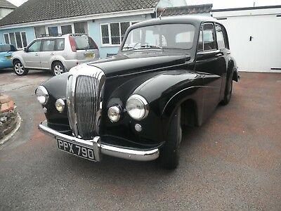 1954  Daimler Conquest,  MOT'd ready to drive away