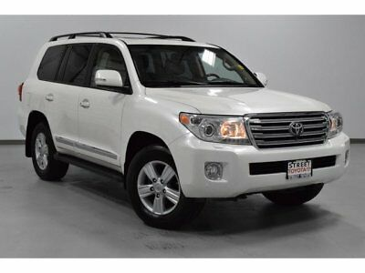 Toyota Land Cruiser  2013 Toyota Land Cruiser V8 4WD Blizzard Pearl Toyota Certified 1 Owner