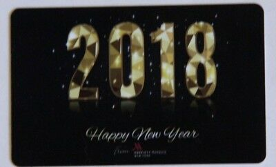 Marriott Marquis Hotel  New York 'happy New Year' Magnetic Room Key