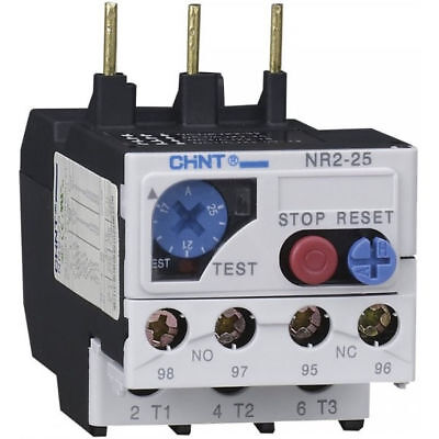 CHINT NR2-25-8 Thermal Overload Relay 5.50 - 8.00 Amp for NC1 Contactors