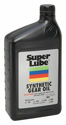 Super Lube Synthetic, SAE Grade : 140, 1 qt. Bottle Clear   54632