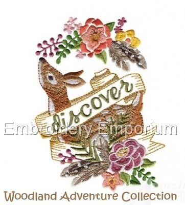 Woodland Adventure Collection - Machine Embroidery Designs On Cd