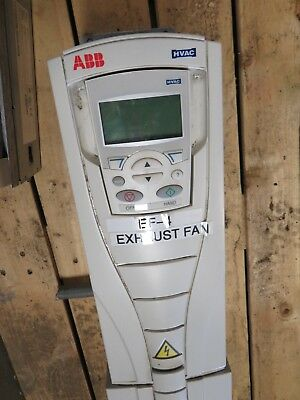 Abb Ach550-Vcr-0649-4 Hvac Variable Frequency Drive W/ Bypass Control