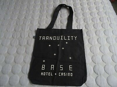 ARCTIC MONKEY'S TRANQUILITY Base Hotel Pop Up Shop Tote Bag