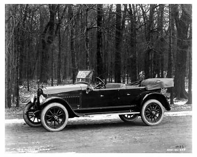 1919 Hudson Touring Factory Photo c9504