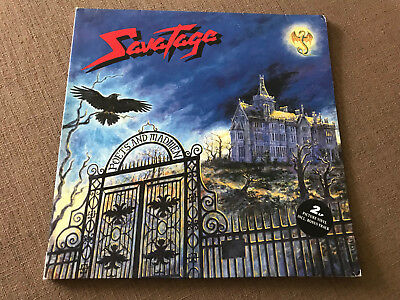 SAVATAGE Poets And Madmen 2-LP Picture Vinyl