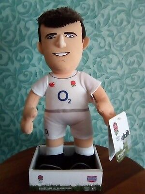 """England Rugby George Ford Plush Figure 10"""" New Model Toy"""