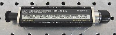 C149563 HP 346B Noise Source 10mHz-18GHz / 10 MHz - 18 GHz 3.5mm *tested good*