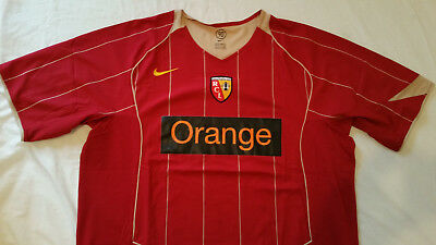 Lens Football Shirt 2004 (Nike XXL) used, great condition