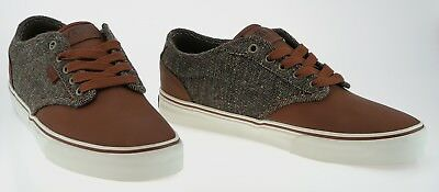 443359 Vans Atwood Deluxe Tweed Tortoise Marshmallow Sample