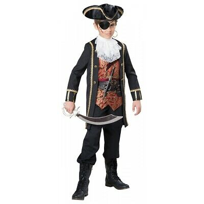 Pirate Costume Kids Halloween Fancy Dress