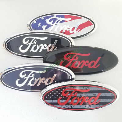 "9"" FORD EMBLEM BADGE OVAL FRONT GRILLE / REAR TAILGATE for F150 F250 Explorer"