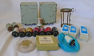 Lot of Parts From RCA 24th St Studio in NYC Peerless RCA Telefunken Transformers