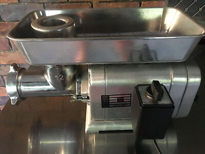 Meat Mincer 200kg/hr Anvil Alto Heavy Duty Commercial Grinder Sausage Maker