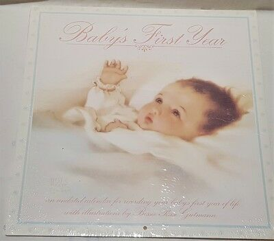 Baby's First Year Calendar Illustrations by Bessie Pease Gutmann Mint Condition