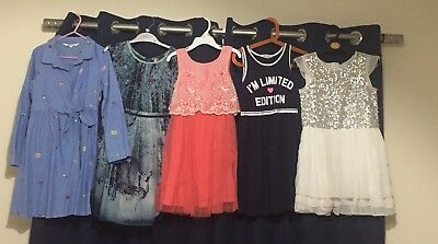 Girls Next H&M bundle of dresses age 6 -7 years Brand New And Excellent Used