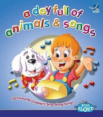 Childrens Singalong ~ A Day Full Of Animals And Songs NEW SEALED CD  Kids Party?