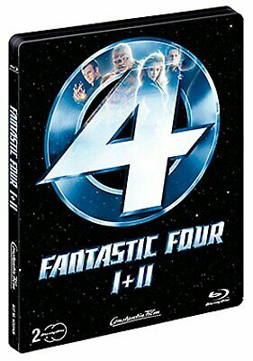 Fantastic Four 1 + 2 - Limited Steelbook Edition # 2-BLU-RAY-NEU