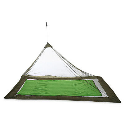 Outdoor Compact Lightweight Tent Mosquito Net Canopy Army Green
