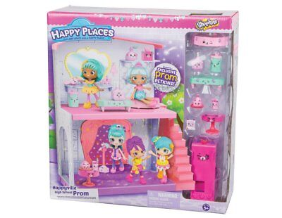 Shopkins Happy Places Happyville High School Prom Playset