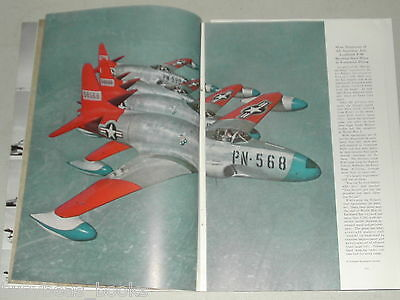 1950 magazine article modern aviation, early jets piloting etc, color photos