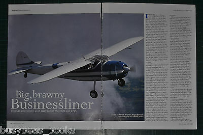 CESSNA C195 article, history, photos, from 2003 British aviation magazine