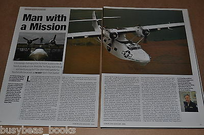 Catalina PBY, Vickers Canso magazine articles, preservation, flying boat, UK mag
