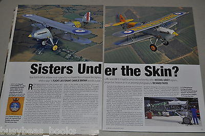 Hawker Nimrod magazine articles, history, photos, restoration etc, from UK mag.