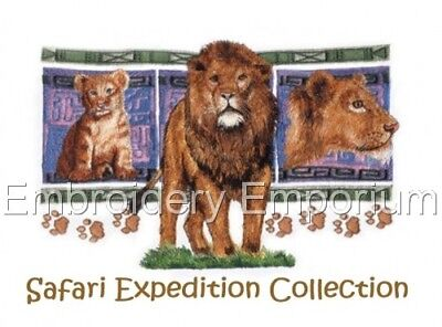 Safari Expedition Collection - Machine Embroidery Designs On Cd