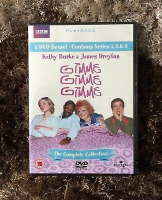 🆕 Sealed DVD Boxset GIMME GIMME GIMME The Complete Collection Series 1 2 3