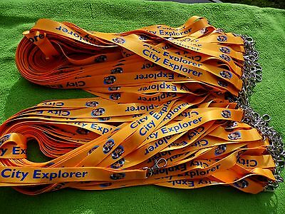 150 Personalised Lanyards,Printed with Your Logo,Text or Image,20mm High Quality