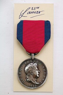 Hanoverian Troops Medal Battle Of Waterloo Army Military Hannoverscher Regent