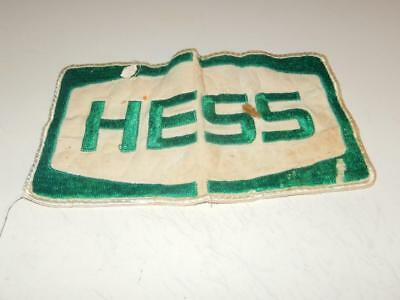 "Older Hess Hess Patch - 4"" X 7""  - Folded - Fair- H78"