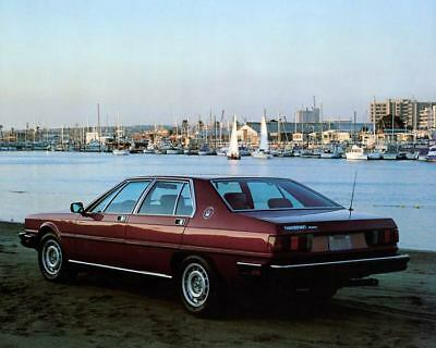 1980 Maserati Quattroporte Factory Photo m1659-4K3N9X