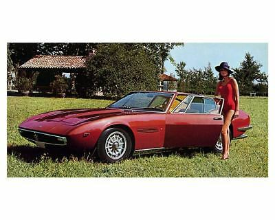 1969 Maserati Ghibli Factory Photo m1785-UHD9LR