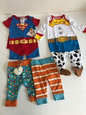 Mothercare Boys 0 to 3 Months Baby Clothes Bundle Disney Woody Baby Grow NEW A